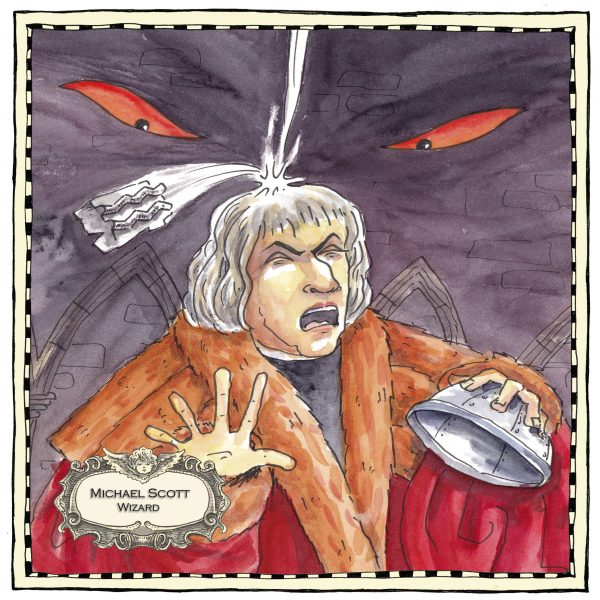 Illustration of  Michael Scott
