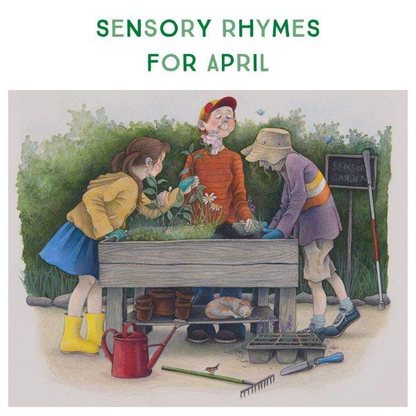 Sensory Rhymes For April