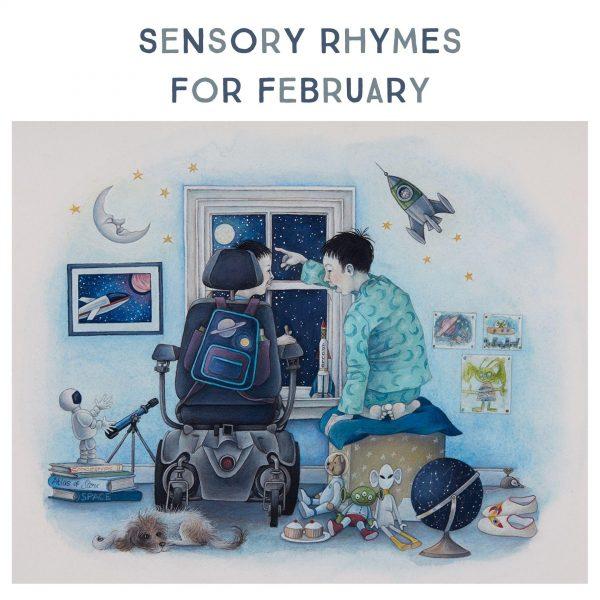 Sensory Rhymes For February